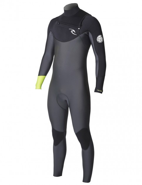 Rip Curl Dawn Patrol Chest Zip 3/2mm Wetsuit 2018 - Lemon