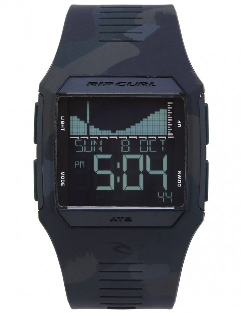 Rip Curl Rifles Tide surf watch - Jungle Camo