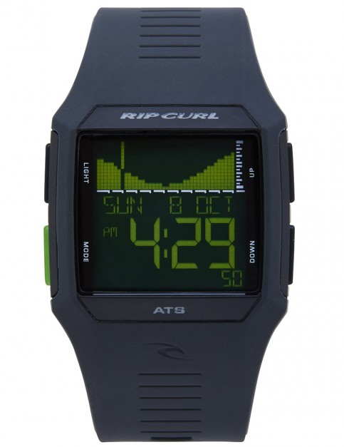 Rip Curl Rifles Tide surf watch - Black Green