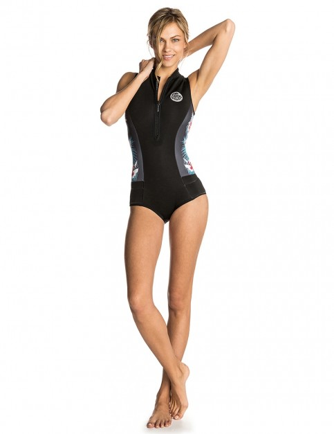 Rip Curl Ladies G-Bomb Sleeveless shorty 1mm wetsuit 2018 - Black