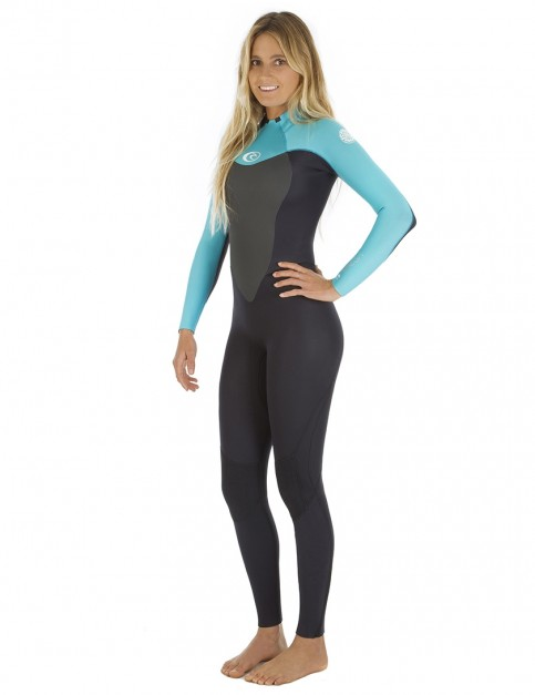 Rip Curl Ladies Omega 3/2mm Wetsuit 2018 - Turquoise