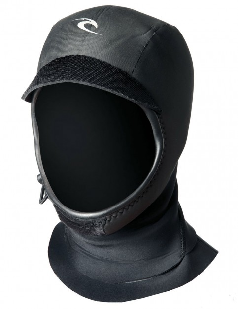 Rip Curl Flash Bomb 3mm Wetsuit Hood - Black