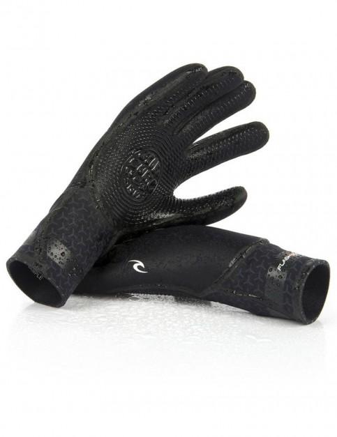 Rip Curl Flash Bomb 5 Finger 5/3mm wetsuit gloves - Black