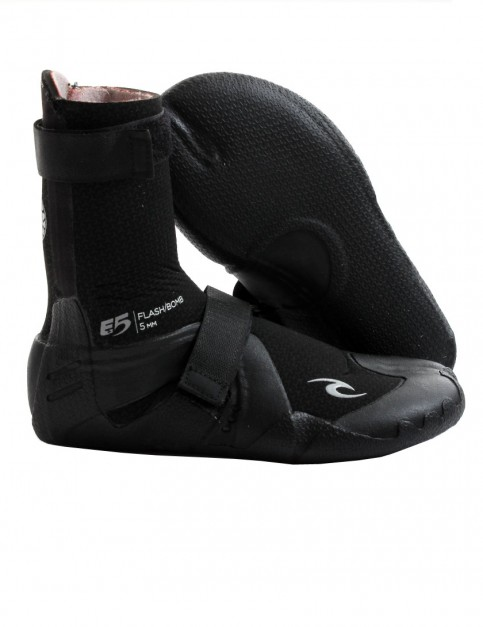 Rip Curl Flash Bomb Hidden Split Toe 5mm wetsuit boots - Black