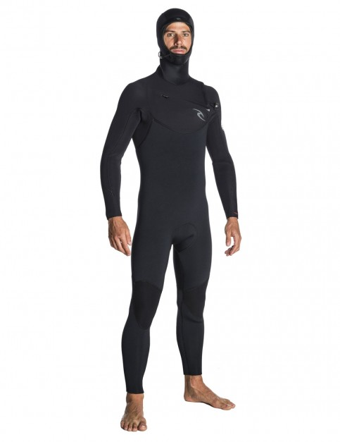 Rip Curl Dawn Patrol 5/3mm Hooded Wetsuit 2018 - Black