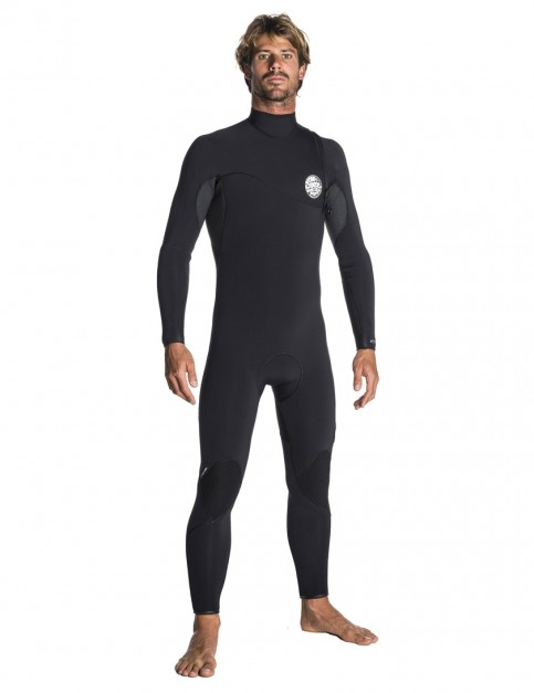 Rip Curl Flash Bomb Zip Free 5/3mm Wetsuit 2018 - Black