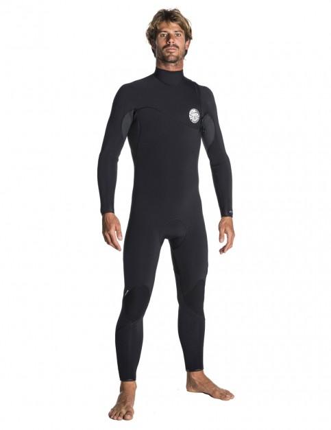 Rip Curl Flash Bomb Zip Free 5/3mm Wetsuit 2018 - Black