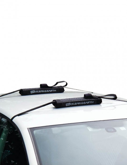 Ocean & Earth Quick Rax soft rack for cars without roof gutters - Black