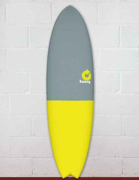 Torq Mod Fish surfboard 6ft 3 - Fifty Fifty