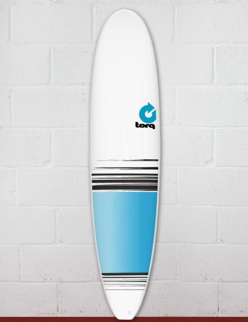 Torq Mini Long Surfboard 8ft 0 - Colour Fade