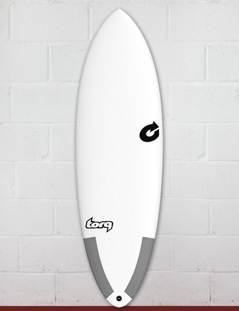 Torq Tec Hybrid surfboard 6ft 0 - White
