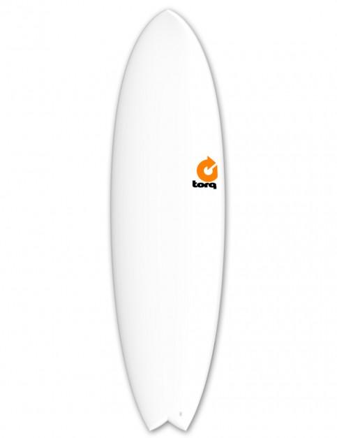 Torq Mod Fish surfboard 6ft 10 - Matte White