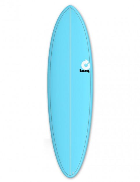 Torq Mod Fun surfboard 6ft 8 - Blue/Pinline