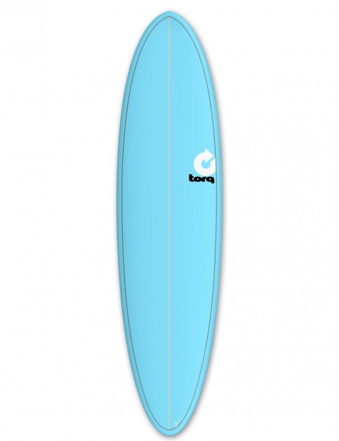 Torq Mod Fun surfboard 7ft 2 - Blue/Pinline