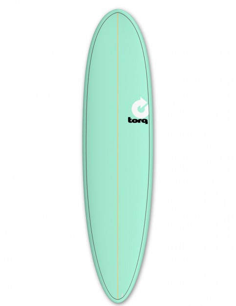 Torq Mod Fun surfboard 7ft 2 - Sea Green/Pinline