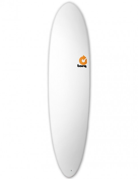 Torq Mod Fun Surfboard 7ft 6 - Matte White