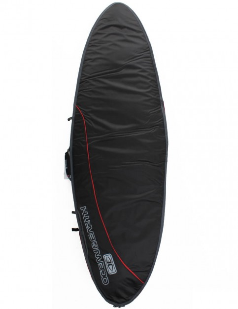 Ocean & Earth Aircon Fish 10mm Surfboard Bag 6ft 0 - Black/Red