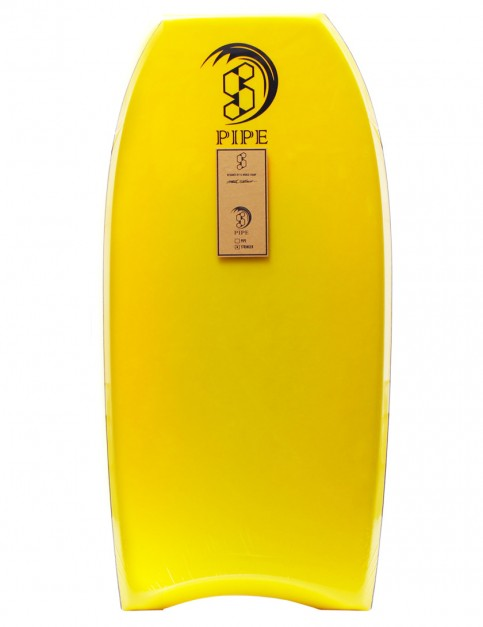 Science Pipe Stringer Bodyboard 44 inch - Yellow