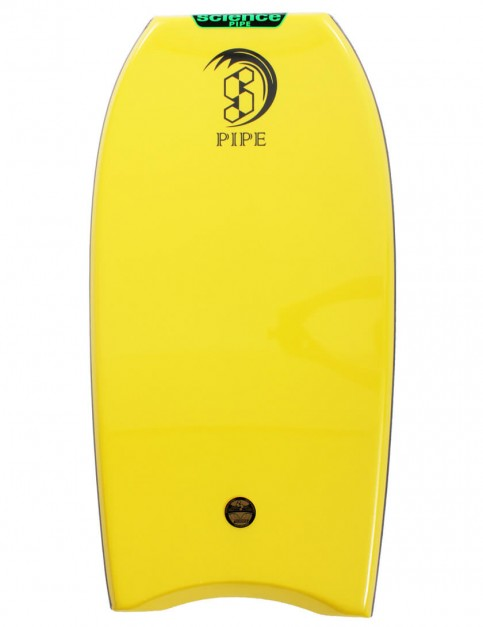 Science Pipe Bodyboard 38 inch - Yellow