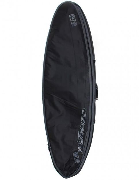 Ocean & Earth Triple Compact Shortboard 10mm Surfboard bag 6ft 4 - Black