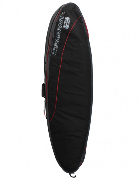 Ocean & Earth Triple Compact Shortboard 10mm Surfboard bag 7ft 2 - Black