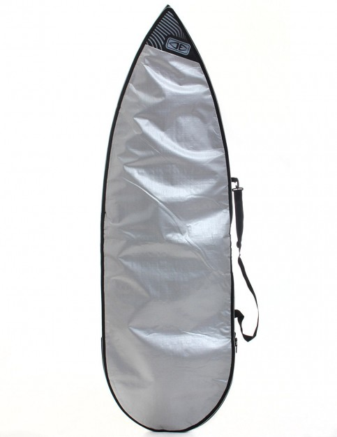 Ocean & Earth Barry Basic 5mm Shortboard Surfboard bag 6ft 8 - Silver
