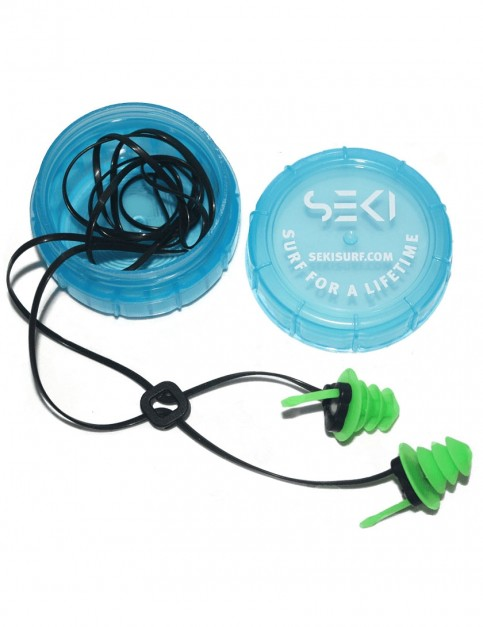 SEKI Waterproof Earplugs - Green