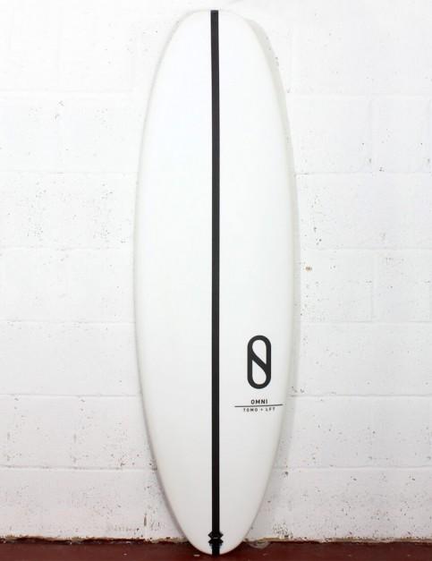 Slater Designs Omni surfboard 5ft 3 FCS II - White