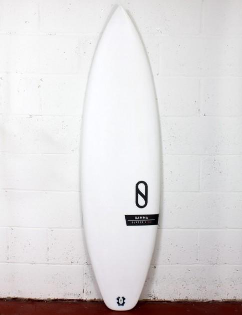 Slater Designs Helium Gamma surfboard 6ft 4 FCS II - White