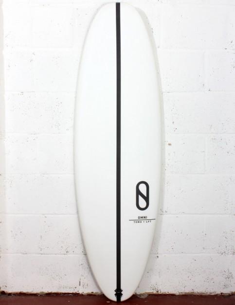 Slater Designs Omni surfboard 5ft 4 FCS II - White
