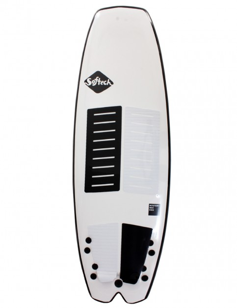 Softech Mystery Box soft surfboard 5ft 2 - White
