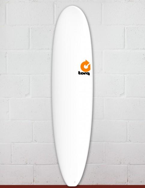 Torq Mini Long surfboard 8ft 0 - Matte White
