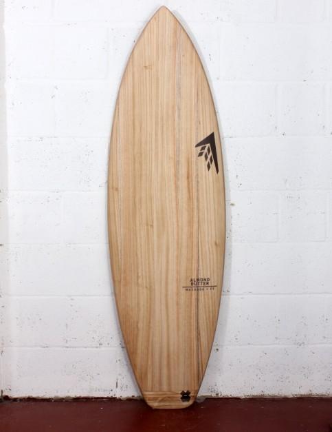 Firewire Timbertek Almond Butter surfboard 5ft 8 Futures - Natural Wood