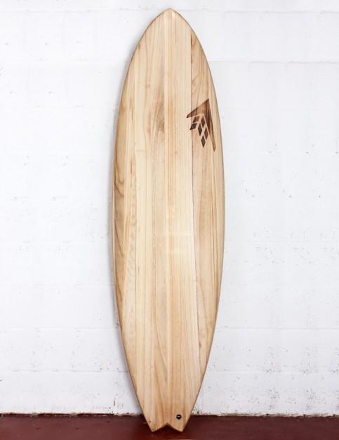 Firewire Timbertek ADDvance surfboard 6ft 6 FCS II - Natural Wood