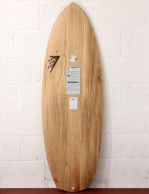 Firewire Timbertek Baked Potato Surfboard 5ft 11 Futures - Natural Wood