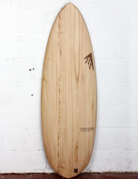 Firewire Timbertek Carbo Hydro surfboard 5ft 5 FCS II - Natural Wood