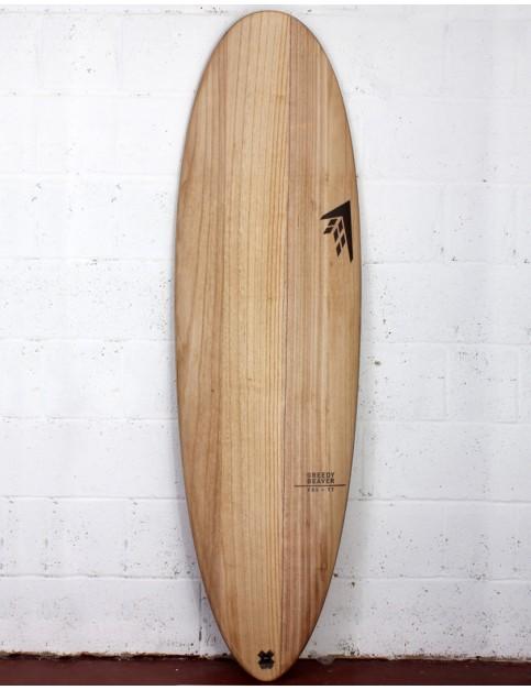 Firewire Timbertek Greedy Beaver Surfboard 6ft 0 Futures - Natural Wood