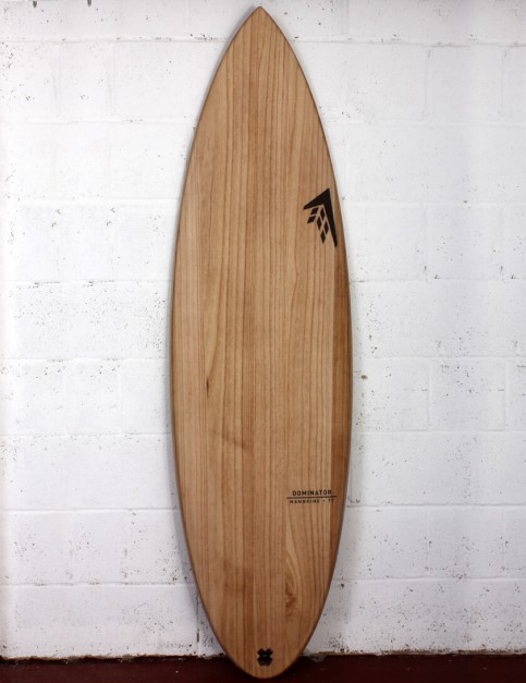 Firewire Timbertek Dominator surfboard 6ft 1 Futures - Natural Wood