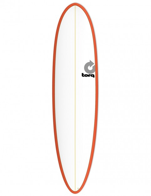Torq Mod Fun surfboard 7ft 6 - Red/Pinline