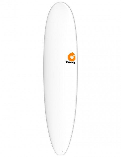 Torq Longboard surfboard 8ft 6 - White
