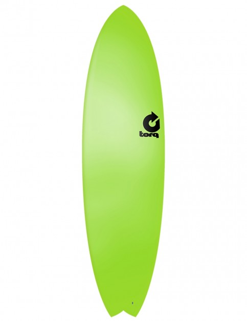 Torq Fish Soft & Hard surfboard 6ft 10 - Green