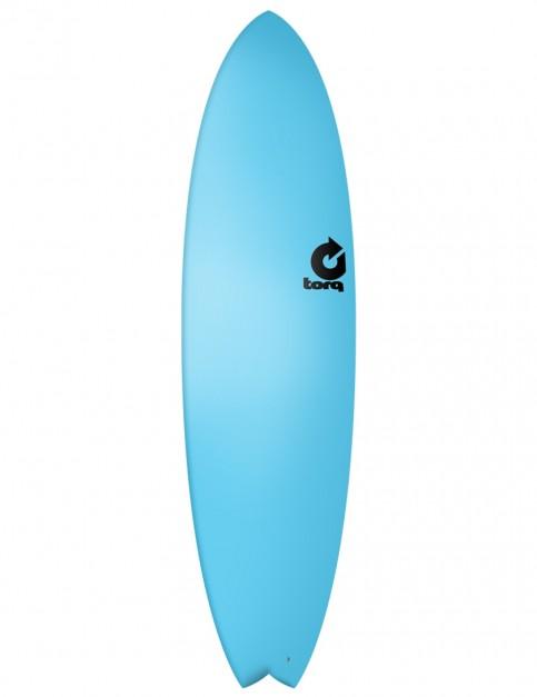 Torq Fish Soft & Hard surfboard 7ft 2 - Blue