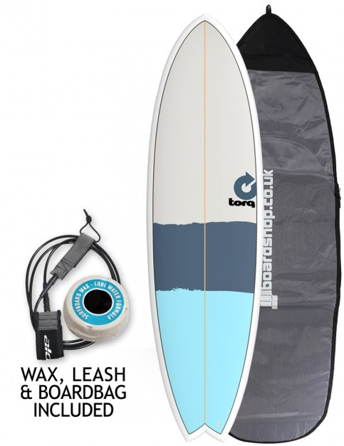 Torq Mod Fish surfboard package 6ft 3 - New Classic