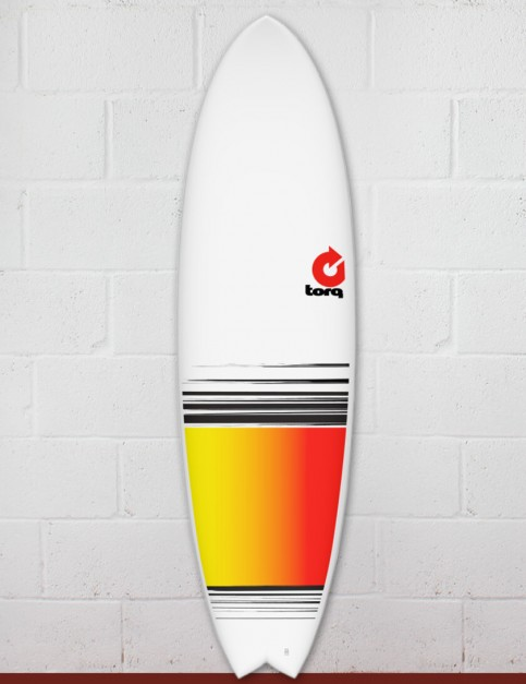 Torq Mod Fish surfboard 6ft 6 - Colour Fade
