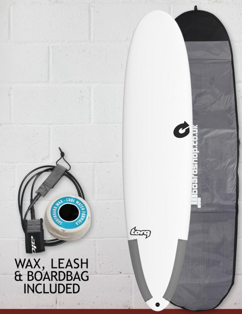 Torq Tec M2 surfboard package 8ft 0 - White