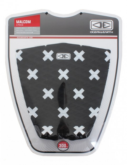 Ocean & Earth Malcom Surfboard Tail Pad - Black