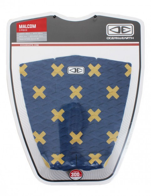 Ocean & Earth Malcom Surfboard Tail Pad - Ink