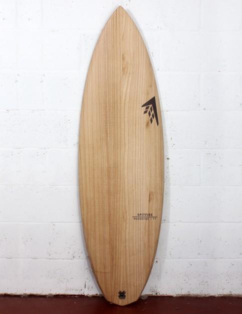 Firewire Timbertek Spitfire Surfboard 6ft 2 Futures - Natural Wood