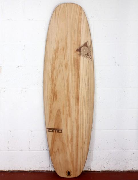 Firewire Timbertek Evo surfboard 5ft 3 FCS II - Natural Wood