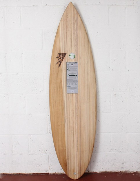 Firewire Timbertek Unibrow surfboard 6ft 6 FCS II - Natural Wood